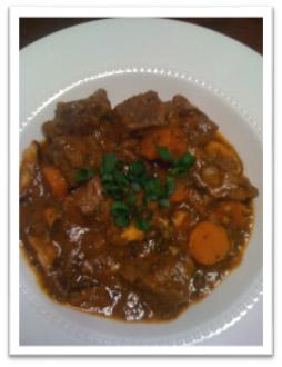 Coconut Ginger Beef Stew | Keri Brooks Health