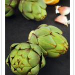 artichoke with lemon