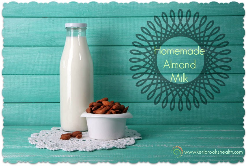 homemade almond-milk
