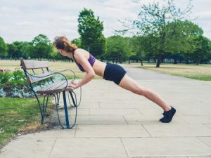 plank-on-a-bench